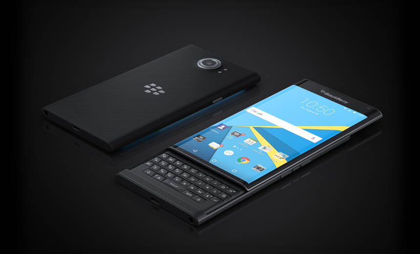 Is 'Priv' Smartphone BlackBerry's Last Stand?