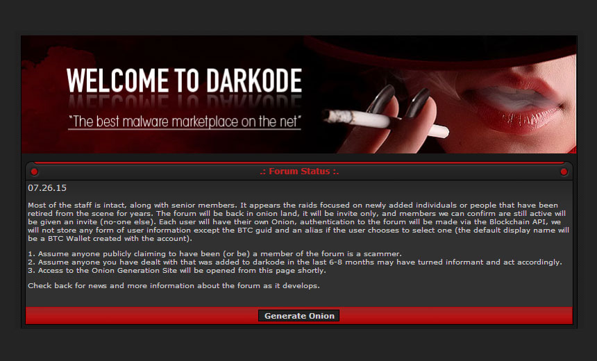 Darkode Reboot: All Bark, No Bite?